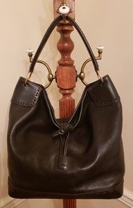 Dooney and Bourke Florentine Large Toggle Hobo